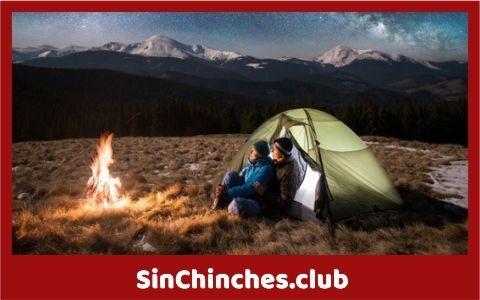 atrapar chinches en el exterior acampando