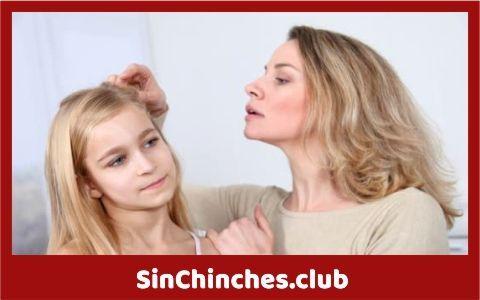 tienes chinches en el pelo cabello como piojos